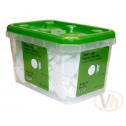 Täcklock essbox Essve (Vit)