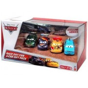 Coffret 4 Voitures - Disney - Cars 2 - Alloy Hemberger - Max Schnell - Nigel Gearsley - Miguel Casimo Véhicule Miniature