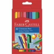 Carioca 10 culori Connector Faber-Castell