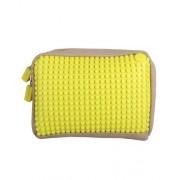 UPixel Bags - Ръчна чантичка Upixel 01 - бежово / жълто