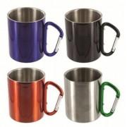 Highlander Karabiner Cup 300ml (Färg: Chrome)