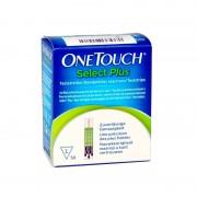 Atiras reativas para glucómetro OneTouch Select Plus (50 unidades)