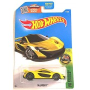 Hot Wheels, 2016 HW Exotics, McLaren P1 [Yellow] #71/250