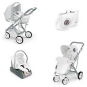 Cam Sistema Modulare Tris Pulsar Bianco