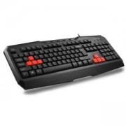 Клавиатура DELUX DLK-9020U USB, Черна, DLK-9020U_VZ
