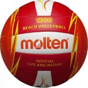 Minge volei plaja Molten, culoare rosu/portocaliu/alb