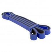 Avento Bandă de exerciții, albastru și negru, latex, groasă