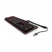 Teclado Gamer HP Omen 1100 Mecánico USB 1MY13AA