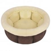 vidaXL Кучешко легло, размер XL, кафяво