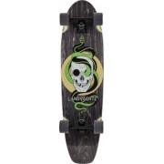Landyachtz Cruiser Skate Complet Landyachtz Dugout (Grey Skull)