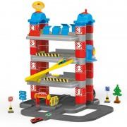 Set de constructie garaj cu 4 niveluri