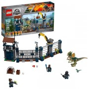 Lego Jurassic World Dilophosaurus stationsattack 75931