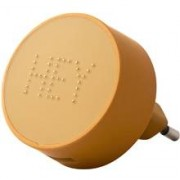 Design Letters Pearl Charger Mustard