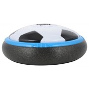 New Air Power Soccer Disc (Big Size)Led Light / wood or tiled floors Play footbal/Indoor Soft Foam Floating Led Light Up Flashing Football game Floats on a cushion of air Great for kids BY KRIS TOY