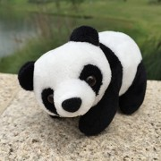 Day Stuffed Soft Toys Animals Cute White Panda Animal Plush Toy Birthday Gift Boy Girl (Length 16cm)