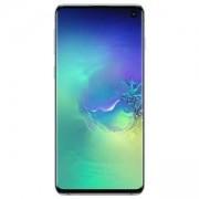 Смартфон Samsung Galaxy S10+ (SM-G975F), 6.4-инчов дисплей (3040x1440), Dual SIM, 8GB/128GB памет, 8-ядрен процесор, зелен, SM-G975FZGDBGL