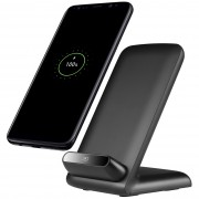 10W Fast Qi Wireless Charging Stand for Samsung Galaxy S8 / S8 Plus