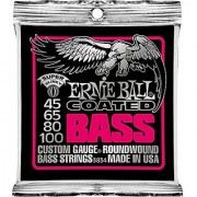Ernie Ball Coated Bass Super Slinky Set .045 - .100