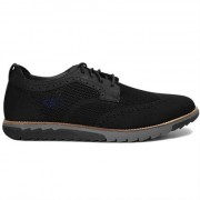 Hush Puppies Herrskor Expert WT Oxford Black Knit Nubuck