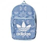 adidas Originals Blue Patterned Logo Backpack Ryggsäckar
