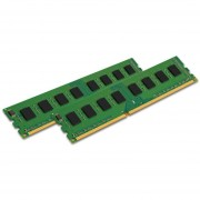 Kingston ValueRAM 8GB Kit (2x4GB) 1600MHz DDR3 Non - ECC CL11 DIMM SR X8 Desktop Memory KVR16N11S8K2/8