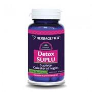 Herbagetica Detox Suplu 60 cps