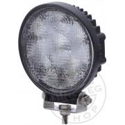 Munkalámpa 6 LED-es kerek terítő fény