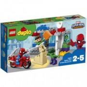 LEGO R DUPLO R Super Heroes Aventurile lui Spider-Man and Hulk 10876