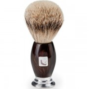 Barberians Gear Shaving Brush / Silver Tip