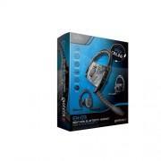 Gioteck EX-03 Monoaural Gancho de Oreja Negro Auricular con micrófono Auriculares con micrófono (Consola de Juegos, Monoaural, Gancho de Oreja, Negro, Playstation 3, Inalámbrico)