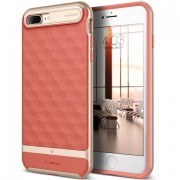 Husa Caseology Parallax iPhone 7/8 Plus Coral Pink