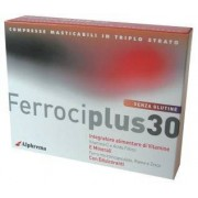 Agave Srl Ferrociplus 30 24cpr Mastic