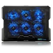 Multilaser Cooler para Notebook com 6 fans LED Azul Hexa Cooler - AC282 AC282