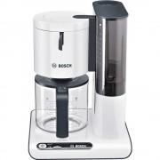 Aparat za kavu Bosch TKA8011 bijela, antracitna kapacitet šalica=10 staklena posuda, funkcija zadržavanja topline