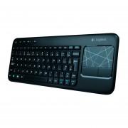 Teclado Wireless Touch Logitech K400 - Negro
