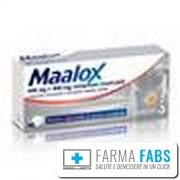 Sanofi Spa Maalox 40 Compresse Masticabile 400mg+400mg