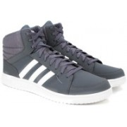ADIDAS NEO VS HOOPS MID Mid Ankle Sneakers For Men(Grey)