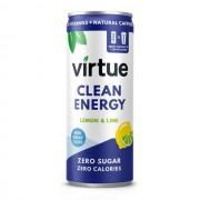 Virtue Drinks Energy drink Virtue - Limone e Lime - 6 x 250ml