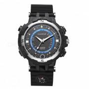 FOX8 con estilo Wi-Fi Registrador Watch w / linterna LED / IR Night Vision