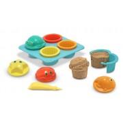 Melissa & Doug 6431 Seaside Sidekicks Sand Cupcake Set