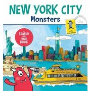 New York City Monsters: A Search-And-Find Book, Hardcover/Anne Paradis