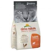12кг Holistic Almo Nature суха храна за котки, пилешко и ориз