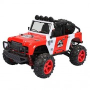 FSTgo RC Cars 1/22 Scale Electric High Speed Drift Truck 40KM/H 4WD Fast Race Crawler 2.4GHz Remote Control Vehicle Racing Buggy,Red