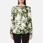 Selected Femme Women's Kamilo Long Sleeve Shirt - Whisper Green - EU 36/UK 8 - Green