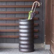 岩尾磁器(有田焼)傘立て轆轤(ろくろ)AM-948