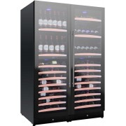 Vitrina de vinuri Nevada Concept NW292Q-FG, 292 sticle, 4 zone, negru