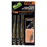 Montura Fox Leadcore Leaders Kwik Change Kit, 3 buc/set