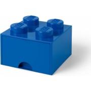Cutie depozitare LEGO 2x2 cu sertar - Albastru 40051731