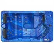 SPAtec Outdoor Whirlpools - SPAtec 300B blau