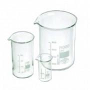 Főzőpohár 400 ml üveg mércés